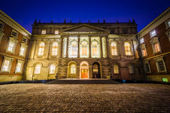 Osgoode Hall at night, in downtown Toronto, Ontario. Stock Photography