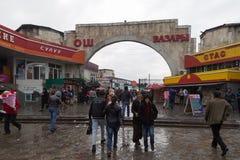 Osh bazar w Bishkek, Kirgistan Obrazy Stock