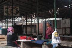 Osh-Markt am Abend Lizenzfreie Stockfotografie