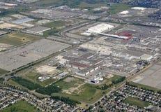 Oshawa industriell antenn Royaltyfri Fotografi