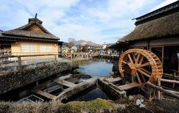 Oshino Hakkai Village Royalty Free Stock Image