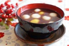 Oshiruko, dulces japoneses Fotos de archivo libres de regalías