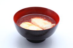 Oshiruko, Japanese food Royalty Free Stock Photo