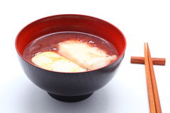 Oshiruko, Japanese food Royalty Free Stock Images