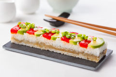 Oshizushi Royalty Free Stock Photo