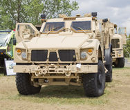 Oshkosh Humvee front view Royalty Free Stock Photos