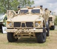 Oshkosh Humvee front view royalty free stock photos
