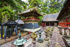 Oshogu shrine Stock Photography