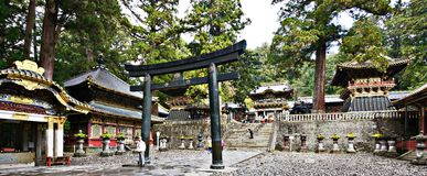 Oshogu shrine Stock Photo