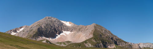 Oshten mountain view from the  north-east Stock Image