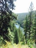 Osiągać szczyt jezioro zdjęcia stock