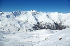 osiąga szczyt śnieżnego Zdjęcia Royalty Free