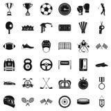 Osiągnięcie ikony ustawiać, prosty styl royalty ilustracja