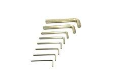 6 osi śrubowy narzędzie Zdjęcie Stock