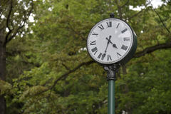 Osiąga w parku, symbol czas obrazy stock