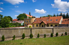 Osieczna - little town in Poland Royalty Free Stock Image
