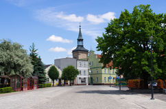 Osieczna - little town in Poland Stock Photography