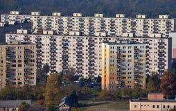Osiedle mieszkaniowe Obrazy Stock