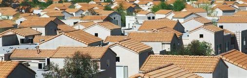 Osiedle mieszkaniowe w Południowy Kalifornia zdjęcia stock