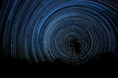 Osiem godzin Starlight Obrazy Royalty Free