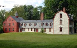 osiemnastego wieku dom Obraz Royalty Free