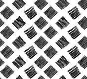 Osier de modèle noir et blanc Photos stock