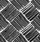 Osier de modèle noir et blanc images libres de droits