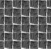 Osier de modèle noir et blanc image libre de droits
