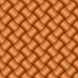 Osier texture. Brown osier woven basket texture vectorial pattern Royalty Free Stock Photography
