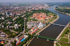 OSIJEK, CROATIE Photo stock