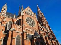 Osijek katedral Royalty Free Stock Image