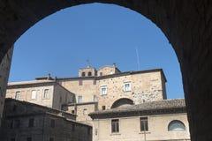 Osimo (Itália) imagens de stock royalty free