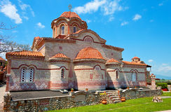'Osios Efraim' monastery at Greece Stock Image