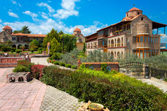 'Osios Efraim' monastery at Greece Stock Photography