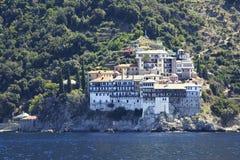 Osiou Gregoriou monastery Stock Images