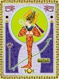 Osiris ilustración del vector