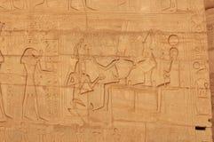 Osiris, ISIS en Ramses II Royalty-vrije Stock Foto's