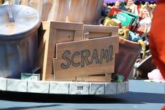 Oskar grouch kubeł na śmieci Obrazy Royalty Free