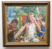 Oskar Kokoschka - at Albertina museum in Vienna Royalty Free Stock Image
