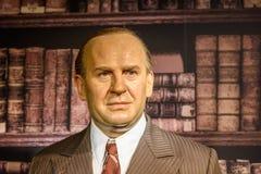 Oskar Schindler Figurine At Madame Tussauds Wax Museum Stock Images