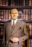 Oskar Schindler Figurine At Madame Tussauds Wax Museum Royalty Free Stock Photo