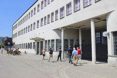 Oskar Schindler's Enamel Factory in Krakow, Poland Stock Photo