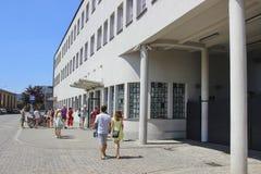 Oskar Schindler's Enamel Factory in Krakow, Poland Stock Images