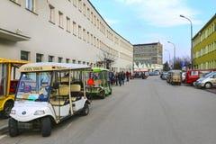 Oskar Schindler's Enamel Factory in Krakow, Poland Royalty Free Stock Photos