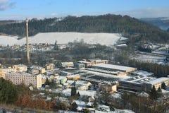 Oskar Schindler´s factory in  Brnenec Stock Photography