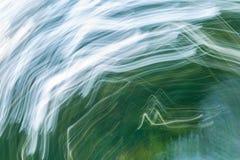 Oskarp abstraktion av den naturliga skogen Arkivbild