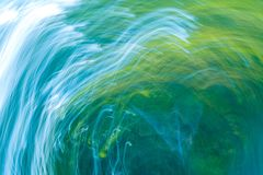 Oskarp abstraktion av den naturliga skogen Royaltyfri Foto