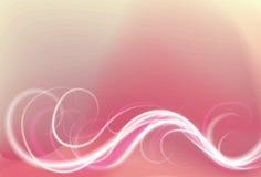 oskarp flödande ljus swirl för bakgrund royaltyfri illustrationer