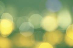 Oskarpa bakgrundscirklar - grön signal Royaltyfri Bild