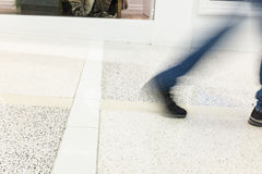 Oskarpa ben och fot Fotografering för Bildbyråer